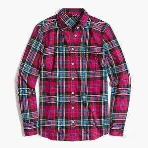 J. Crew Flannel Button Down Shirt